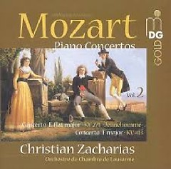 Album Mozart - Piano Concertos Vol. 2 - Christian Zacharias ft. Lausanne Chamber Orchestra