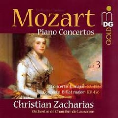 Album Mozart - Piano Concertos Vol. 3 - Christian Zacharias ft. Lausanne Chamber Orchestra