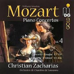 Album Mozart - Piano Concertos Vol. 4 - Christian Zacharias ft. Lausanne Chamber Orchestra