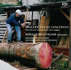 Album Mozart - Piano Concertos 24 & 25 - Ronald Brautigam ft. Michael Alexander Willens