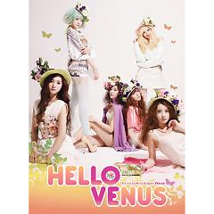 The 1st mini album Venus - Hello Venus -