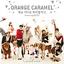 Dashing Through The Snow In High Heels - Orange Caramel,NU&#039;EST
