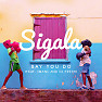 Bài hát Say You Do - Sigala , Imani , Dj Fresh