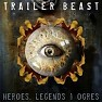 Album Trailer Beast:Heroes, Legends And Ogres CD4 - Immediate Music