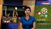 Bản Tin Nhịp Đập Euro 16h 2/7/2012 (Bóng Đá Plus) -
