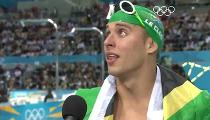 Bơi Nam: 200m Butterfly Final - Chad le Clos wins Gold (Highlights) -