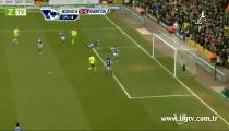 Norwich C. 2 - 1 Everton -