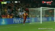 Cúp Châu Âu - Galatasaray 3 - 2Real Madrid
