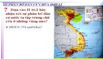 Môn Địa Lý - Zuni.vn - Địa Lý Dân Cư - Đặc Điểm Dân Số Và Phân Bố Dân Cư Nước Ta