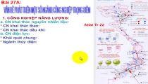 Môn Địa Lý - Zuni.vn - Địa Lí KT: Một Số Vấn Đề Phân Bố Và PT CN: PT Một Số Ngành CN Trọng Điểm