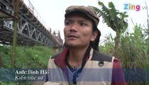 Ký họa cầu Long Biên -