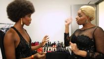 Nene Leakes & Naomi Campbell: How to Walk and Throw Shade -