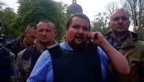 Сотник Микола докладывает ситуацию об Одессе 2 мая 2014 года -