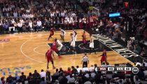 BK NBA 2014 miền Đông (G4): Nets 96-102 Heat -