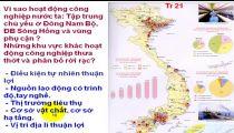 Môn Địa Lý - Zuni.vn - Địa Lý Các Ngành KT: Một Số Vấn Đề PT Và Phân Bố CN - Cơ Cấu Ngành CN