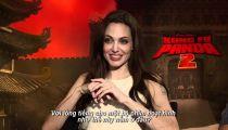 Kungfu Panda 2 - Ngô Thanh Vân trò chuyện cùng Angelina Jolie & Jack Black -