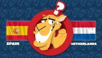 Lạc đà dự đoán Hà Lan đánh bại Tây Ban Nha -