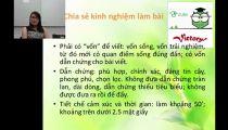 Zuni.vn - Chiến Lược Làm Bài Thi Môn Văn (Phần 1) -