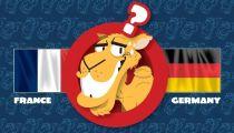 Lạc đà dự đoán trận Đức - Pháp -