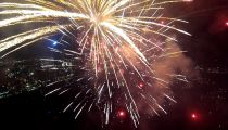 GoPro: Fireworks From A Drone -