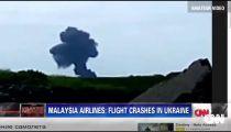 MH17 nổ trên mặt đất -