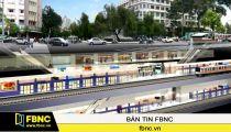 Nhà ga tuyến Metro số 1 tại TP.HCM -