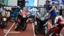 Chạy thử xe tay ga 3 bánh Yamaha Tricity tại Việt Nam -