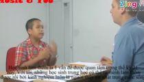 Thần đồng Đỗ Nhật Nam trổ tài nói tiếng Anh -