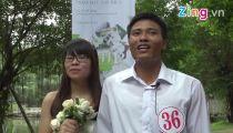 Cảm xúc của cô dâu chú rể trong buổi lễ