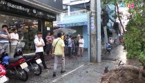 Cây đổ hàng loạt, một người bị đè trúng tử vong tại Sài Gòn -
