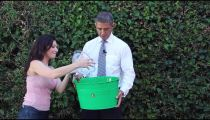 President Obama Accepts The ALS Ice Bucket Challenge -