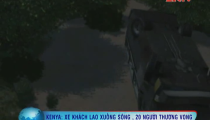 Kenya: Xe khách lao xuống sông, 29 người tử vong -