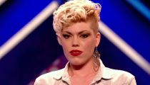 X FACTOR 2012 Zoe Alexander Goes Crazy! -