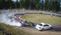 GoPro: Twelve Car Tandem Drift -