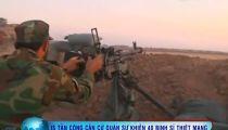 IS thực hiện vụ tấn công đẫm máu nhằm vào binh sĩ Iraq -