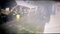 Ураган в Севастополе унес палатку вместе с человеком -