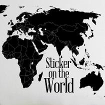 Sticker In The World