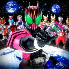 Poster Phim Siêu Nhân Biến Hình - Kamen Rider Decade