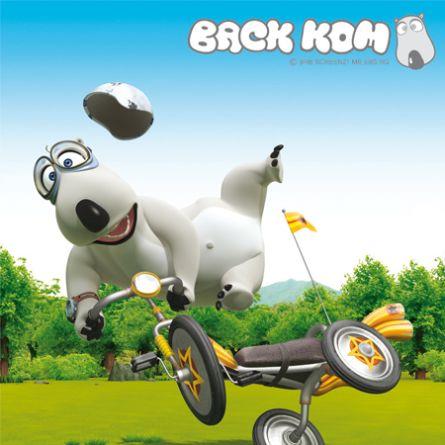 Backkom - Bernard The Polar Bear - Chú Gấu Xui Xẻo